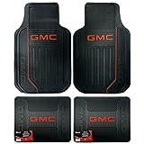 GMC Logo Elite Series Front & Rear Car Truck SUV Seat Rubber Floor Mats