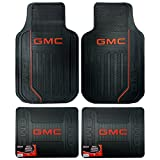 GMC Logo Elite Series Front & Rear Car Truck SUV Seat Rubber Floor Mats