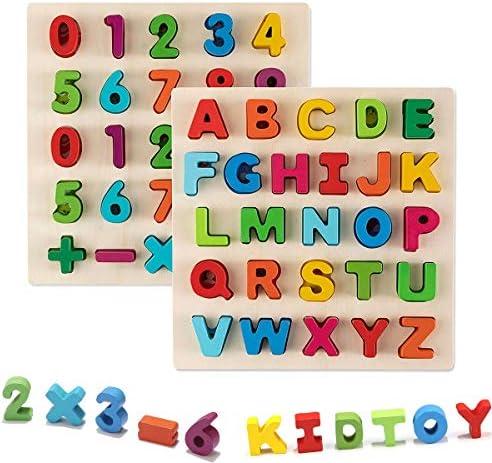 Jamohom Wooden Alphabet Educational Learning product image