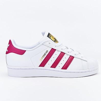 Adidas Superstar Blanco Con Fucsia
