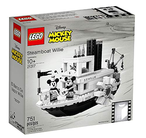 LEGO Mickey Mouse Steamboat Willie Set 21317