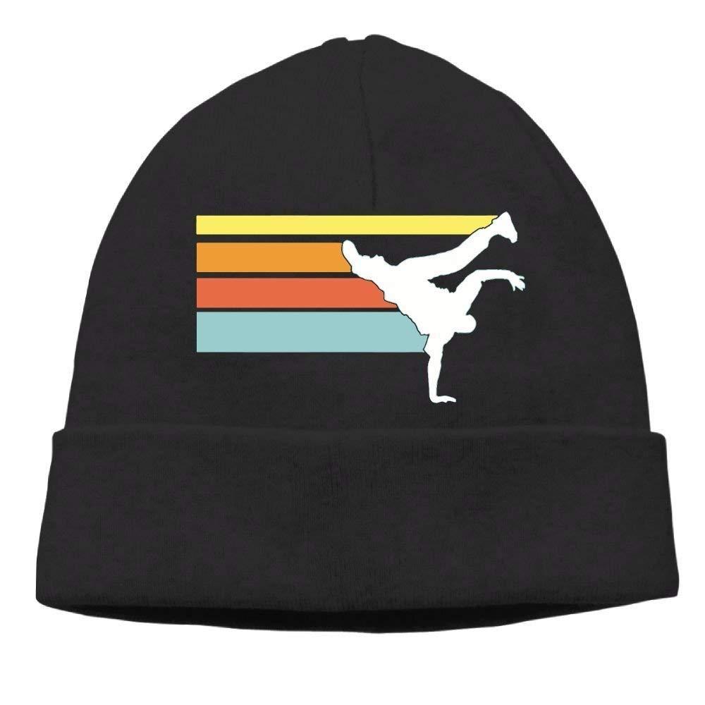 BALAETI Vintage Hip Hop Breakdance Men's& Women's Knit Hats Winter Warm Daily Hat Fashion Funny Cap Hat