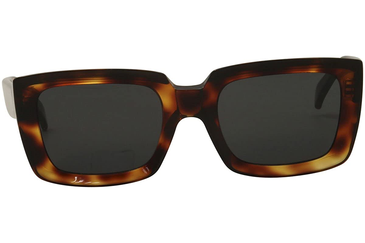 d5c3743c3b321 Amazon.com  Celine 41449 S 086IR havana tortoise frame gray 55mm lens  sunglasses  Clothing