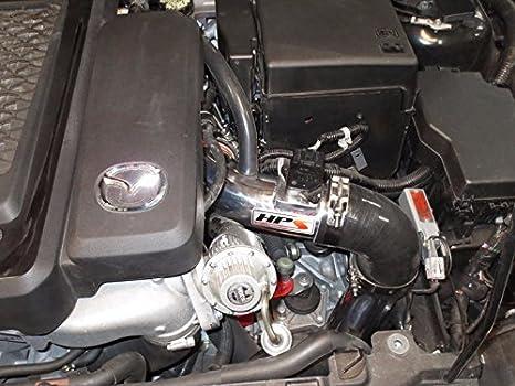 HPS azul largo Aire Frío ingesta kit de filtro de K & N para Mazda 07 - 13 Mazdaspeed 3 Turbo 2.3L 4 puertas: Amazon.es: Coche y moto