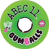 Abec 11 Gumballs Green Longboard Wheels - 76mm 75a (Set of 4)