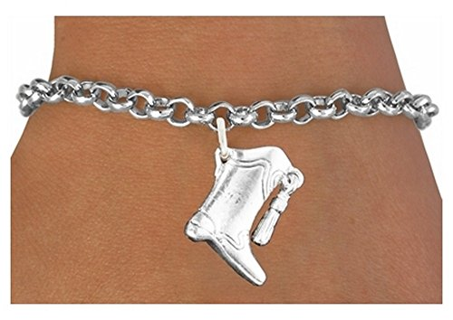 Stop Trail Boots (Drill Team High Boot Charm & Bracelet)