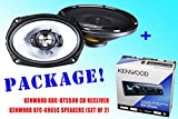 PACKAGE ! Kenwood KDC-BT562U Bluetooth Stereo CD-Receiver + Kenwood KFC-6965S 6x9