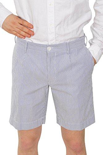 Incotex Pantalon Homme 46 Bleu / Taille normale Coupe droite