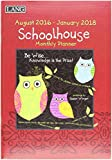 Lang 2017 Schoolhouse Monthly Planner, 18 Months, 8.5 x 12 inches (17991012102)