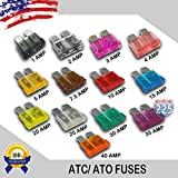 10 Pack 40 AMP ATC/ATO Standard Regular Fuse