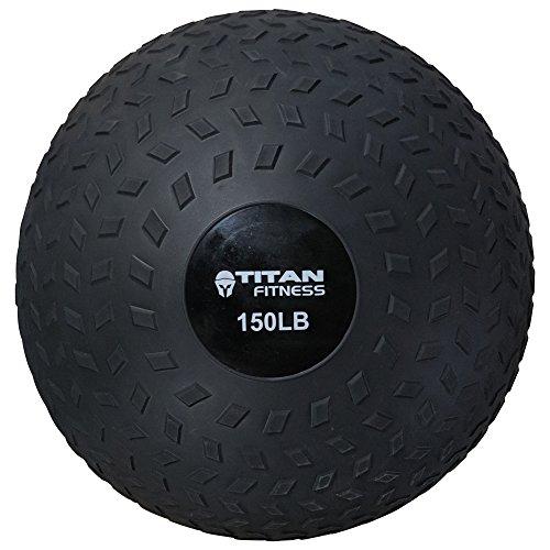 Titan 80-150 LB Slam Spike Ball Rubber Exercise Weight Workout