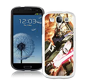 Fashion Designed Gundam 5 White Samsung Galaxy S3 Phone Case