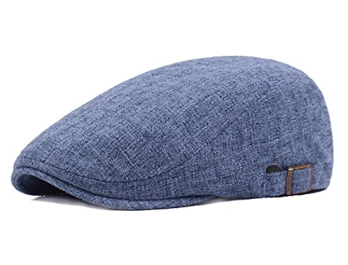 - Newsboy Irish Cabbie Scally Cap Ivy League Duckbill Hats Throwback Vintage Flair Comfortable Fit Guaranteed Blue