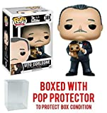 Funko Pop! Movies: Godfather Don Vito Corleone Vinyl Figure (Bundled with Pop BOX PROTECTOR CASE)