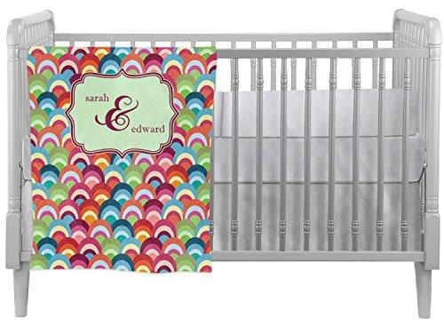- Retro Fishscales Crib Comforter/Quilt (Personalized)