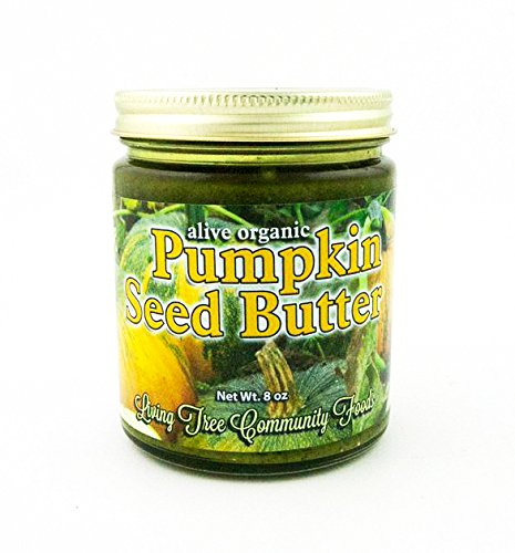 Living Tree Alive Organic Pumpkin Seed Butter - 8 Ounce by Living Tree Community Foods
