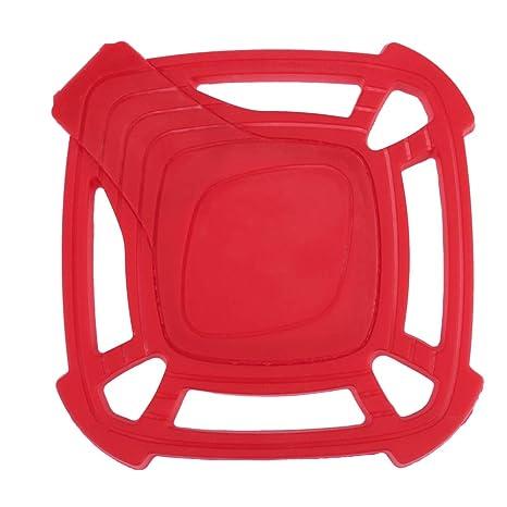 Fjiujin,Cojín de silicona de aislamiento térmico de olla ...