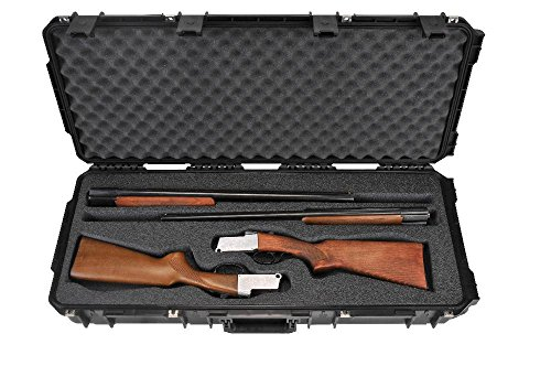 - SKB Injection-Molded Double Custom Breakdown Shotgun Case, Black