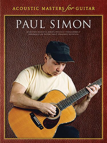 Paul Simon - Acoustic Masters for Guitar: Guitar ()