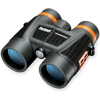 Bushnell Bear Grylls 10 x 42mm Roof Prism Waterproof/Fogproof Binoculars, Black