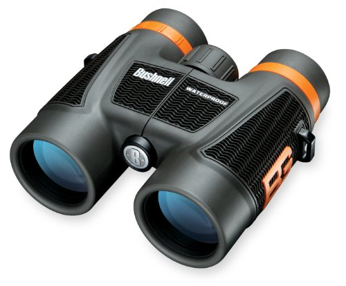 Bushnell Bear Grylls 10 x 42mm Roof Prism Waterproof/Fogproof Binoculars, Black