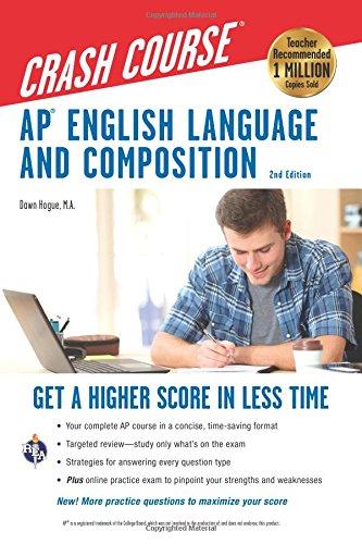 AP® English Language & Composition Crash Course, 2nd Edition (Advanced Placement (AP) Crash Course) by Research & Education Association