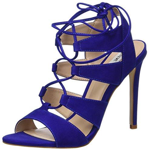 Femme Sandalette Sandales Madden Steve Bleu 5fxwBtnZY