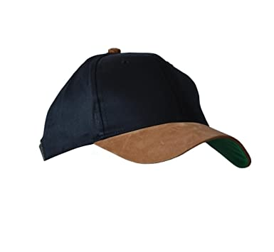 brown leather baseball caps light suede cap chris logo kc unisex two tone cotton twill bill