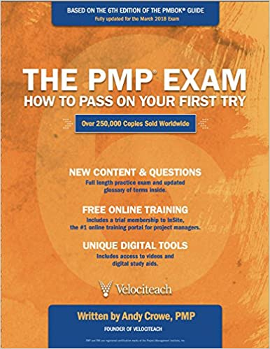 amazon com the pmp exam how to pass on your first try sixth