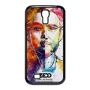 Zedd-SELENA funda Samsung Galaxy S4 9500 funda del teléfono celular de cubierta, funda del teléfono celular de plástico negro