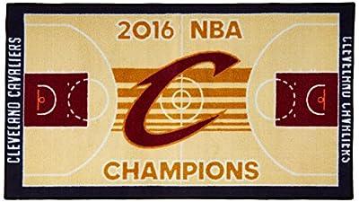"FANMATS 20908 Team Color 30""x72"" Cleveland Cavaliers 2016 NBA Finals Champions Court Runner 30""x72"""