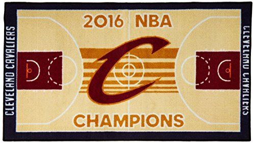 "FANMATS 20908 Team Color 30""x72"" Cleveland Cavaliers 2016 NBA Finals Champions Court Runner 30""x72"""