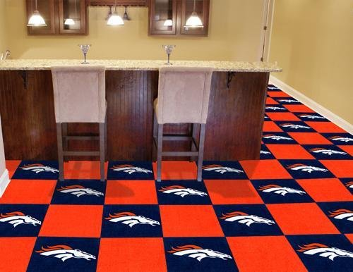 NFL - Denver Broncos Carpet Tiles - Nfl Carpet Tiles Shopping Results
