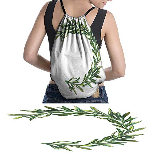 Lightweight Knapsack Handrawn watercolor onion angreenery kitchen food W11.8