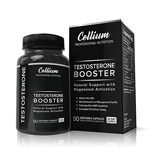 Testosterone Booster for Men to INCREASE Muscle Growth   BOOST Energy Levels & Help RECOVER Faster - Magnesium Activation Formula with Tribulus Terrestris  Saw Palmetto & Horny Goat Weed