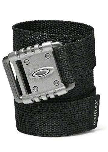 Oakley Men's VSL Adjustable Tech Web Adjustable Belt - Black