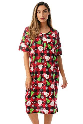 Just Love Short Sleeve Nightgown Sleep Dress for Women Sleepwear 4360-10340-2X