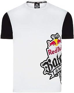 f2abfdccb3a36 Red Bull Camiseta Batalla de los Gallos Original Ropa de Hombre de Manga  Corta en Blanco