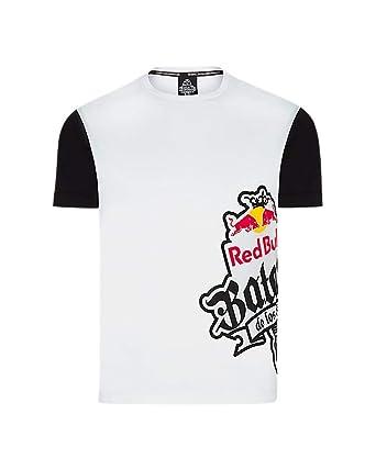 Red Bull Camiseta Batalla de los Gallos Original Ropa de Hombre de Manga  Corta en Blanco Hip Hop Rap Freestyle Streetwear fb9eee02751