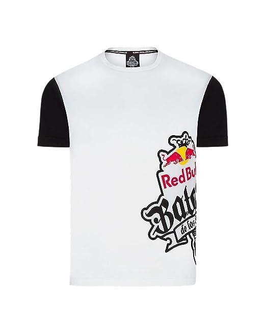 Red Bull Camiseta Batalla de los Gallos Original Ropa de Hombre de Manga  Corta en Blanco Hip Hop Rap Freestyle Streetwear 6ee1b55eb81