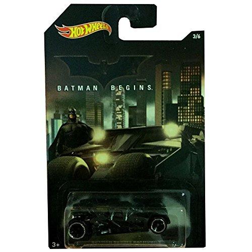 Batman Hot Wheels 1/64 scale Basic 2015 Wal-Mart limited die-cast car # 3 Begins Batmobile Tumbler / HOT WHEELS BATMAN BEGINS BATMOBILE [parallel import goods]