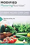 Modified MasteringNutrition with MyDietAnalysis with Pearson EText -- Standalone Access Card -- for Nutrition and You 4th Edition