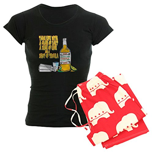 CafePress 3-Tequila - Womens Novelty Cotton Pajama Set, Comfortable PJ Sleepwear
