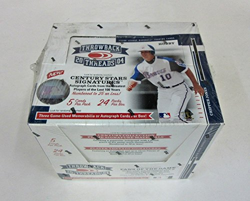(2004 Donruss Throwback Threads Baseball Box (Hobby))