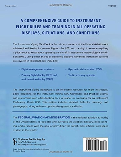 Instrument Flying Handbook (Federal Aviation Administration): FAA-H-8083-15B by Skyhorse Publishing (Image #1)