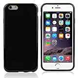 Roodfox New Fashion Black Rubber Soft TPU Back Case Gel Cover For iPhone 6 4.7''