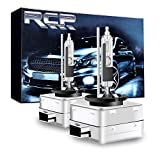 RCP - D3R6 - (A Pair) D3R 6000K Xenon HID Replacement Bulb Diamond White Metal Stents Base 12V Car Headlight Lamps Head Lights 35W