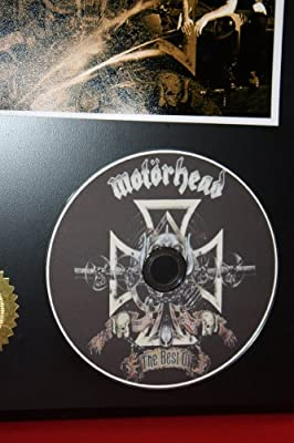 Motorhead Limited Edition Picture Disc CD Rare Collectible Music Display