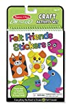 Layer the felt shapes to make furry, funny, fanciful creatures . . . then fill the pages with your felt friends to make four colorful play scenes! Stored in a handy plastic compartment, felt sticker sheets include dozens of shapes in blue, gr...