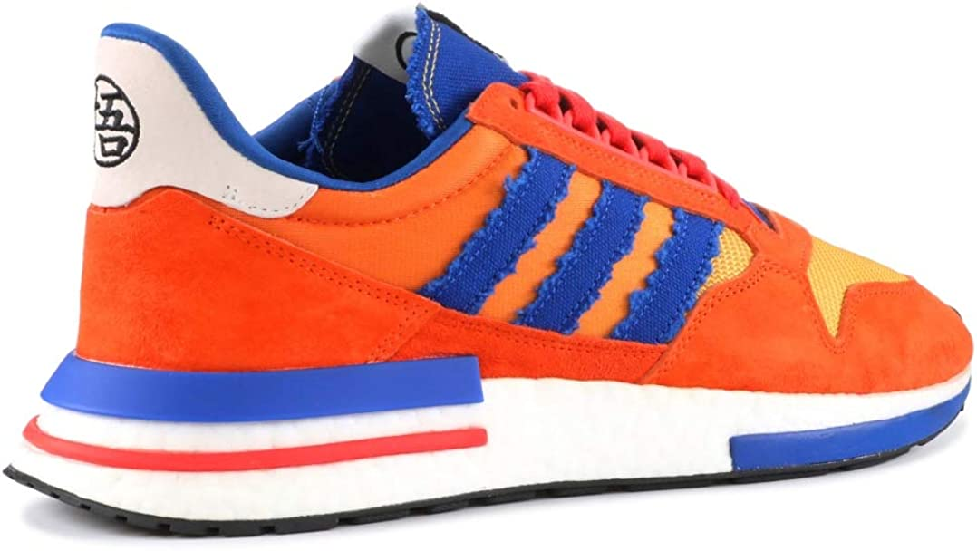 Asalto Alpinista sentido  Amazon.com: adidas ZX 500 Restomod Dragon Ball Z Son Goku D97046 Naranja,  Naranja, 12.5: Shoes